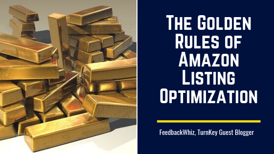 The Golden Rules of Amazon Listing Optimization