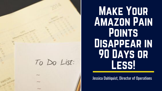 Make Your Amazon Pain Points Disappear in 90 Days or Less!