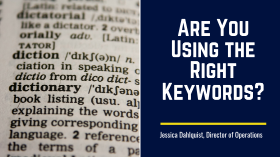 Are You Using the Right Keywords?