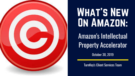 What's New on Amazon: Amazon's Intellectual Property Accelerator