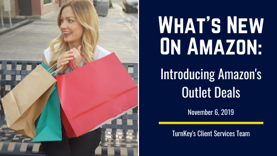 What's New on Amazon: Introducing Amazon's Outlet Deals
