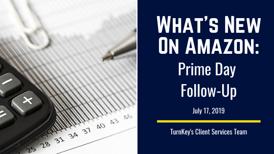 What's New on Amazon: Prime Day Follow-Up