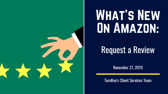 What's New on Amazon: Request a Review