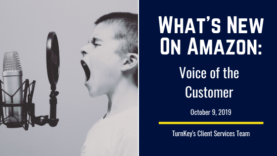 What's New on Amazon: Voice of the Customer