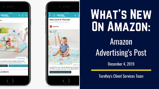 What's New on Amazon: Amazon Advertising's Post