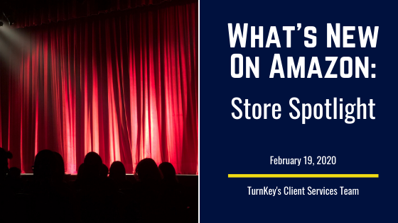 What's New on Amazon: Store Spotlight