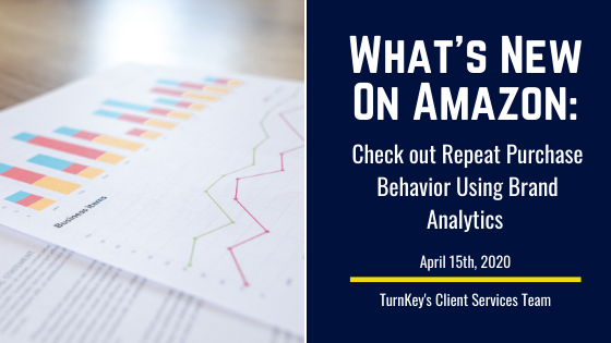 What's New on Amazon: Check out Repeat Purchase Behavior Using Brand Analytics